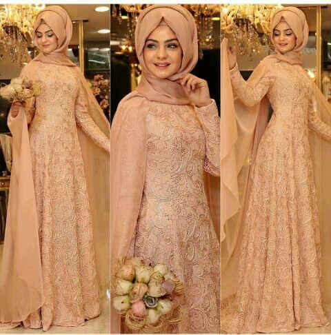 alexxa hijab phasmina spndex maxi brukat combi furing fit L