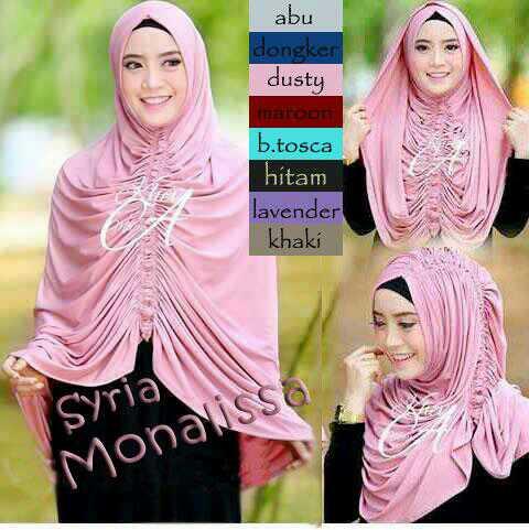 Hijab/Jilbab Syria Krezia/Monalissa Premium