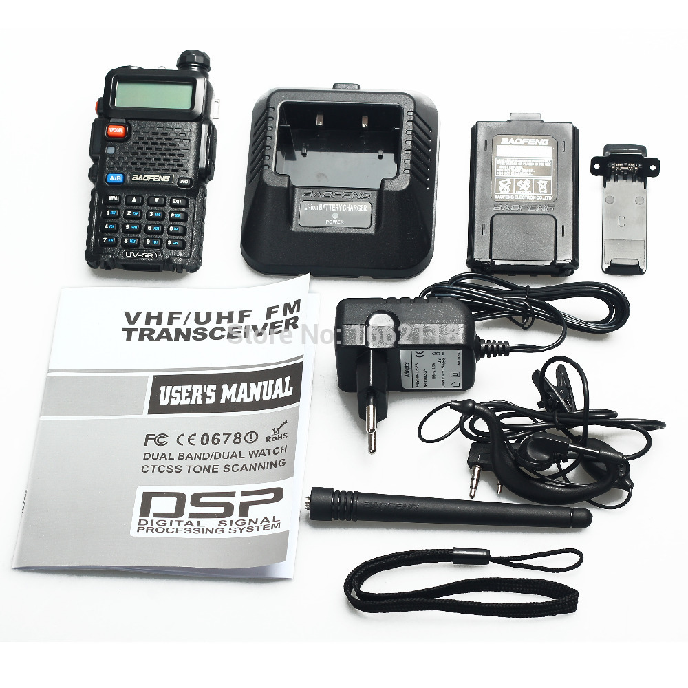 Jual Radio Ht Handy Talkie Baofeng Uv5r Dual Band Uhf Vhf Udah Bf Walkie Lengkap Lumions Tokopedia