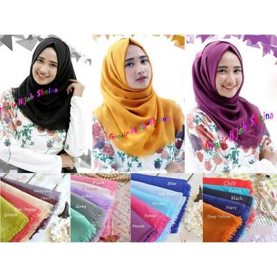 hijab/Jilbab/kerudung Segi Empat Nazwa Rawis