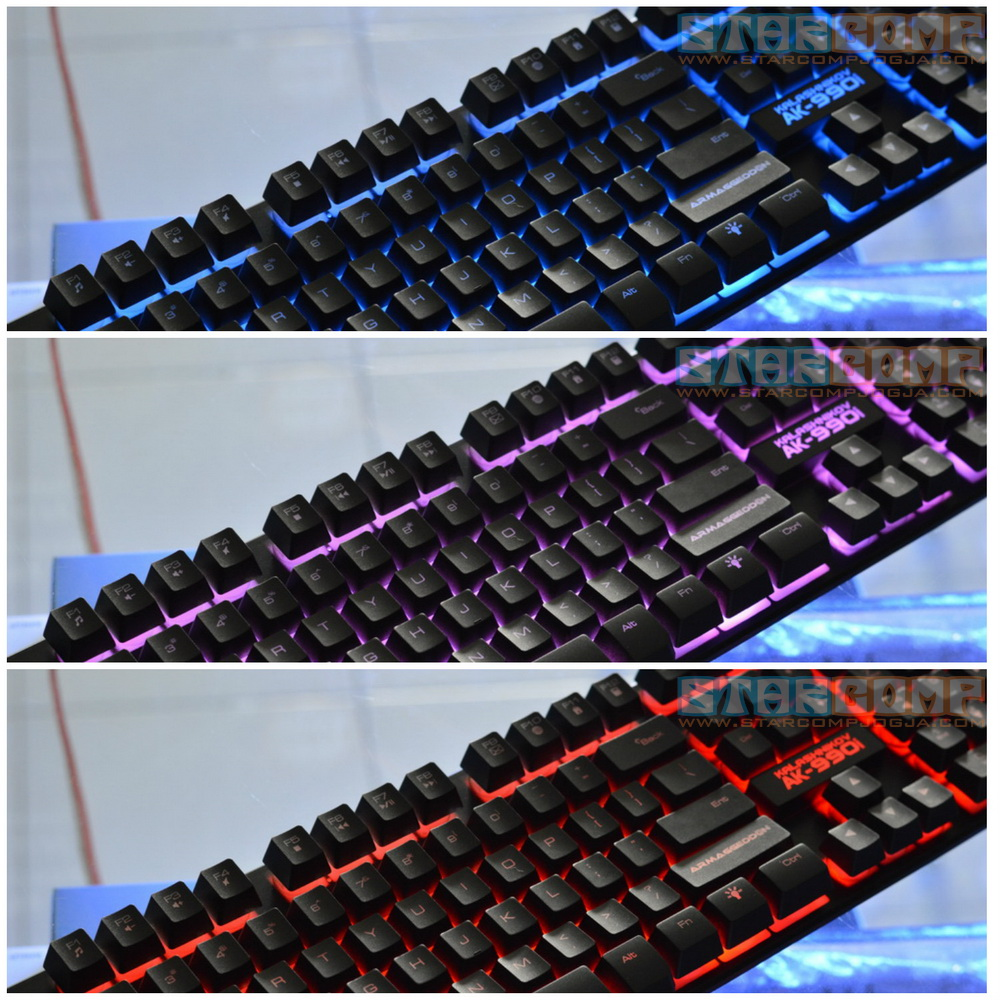 Jual Keyboard Gaming Ak 990i Armaggeddon Kalashnikov - StarComp   Tokopedia