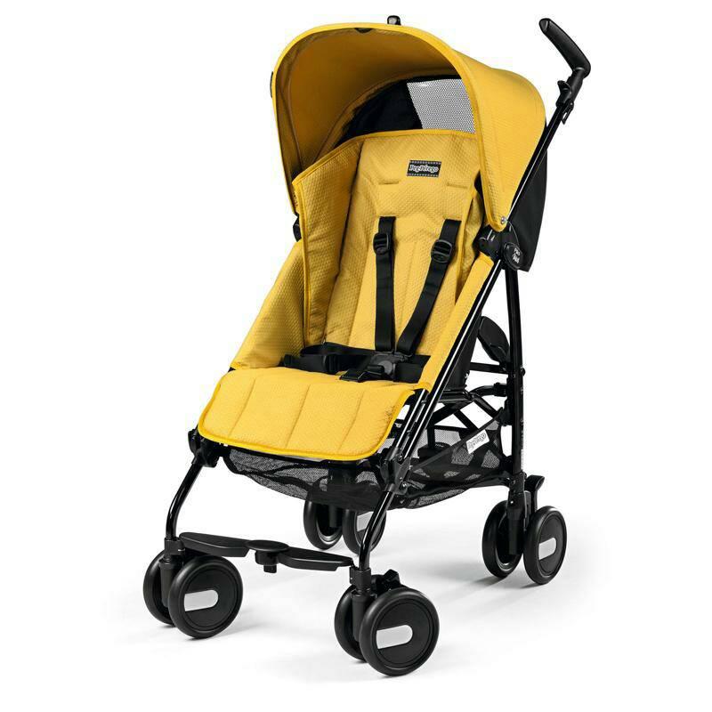 Stroller Peg Perego Pliko Mini Mod Yellow Murah