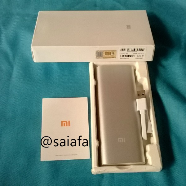 Harga Powerbank Xiaomi 16000 Mah Original Murah