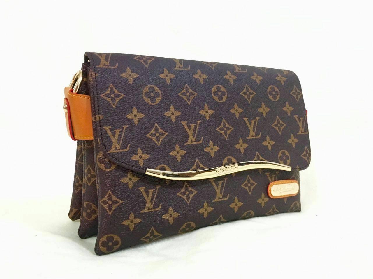 ... Tas Selempang Wanita Lv Tas Branded Louis Vuitton Mono Damier -  Blanja.com b7180955a9