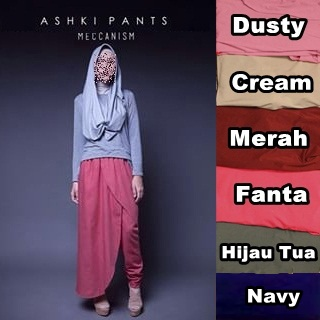 ASHKI PANTS MECCANISM PANT SUPPLIER FASHION HIJAB CELANA BAWAHAN MURAH