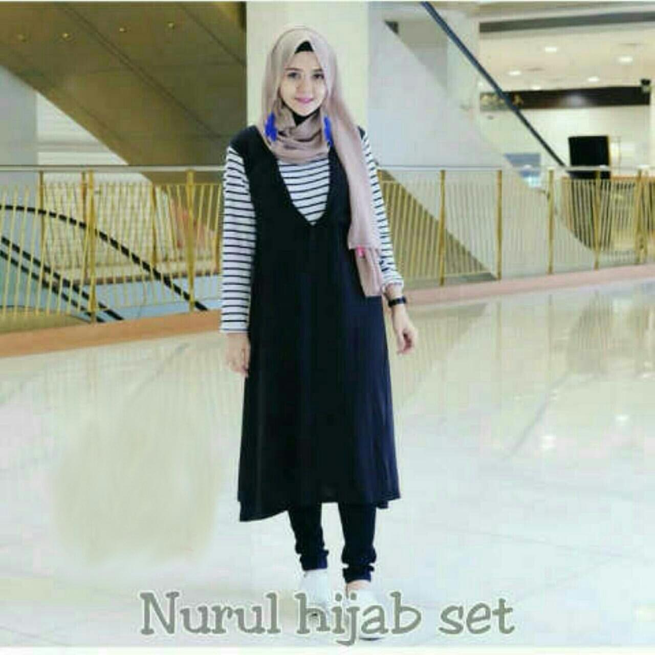 B246866 -#NURUL 4IN1 / setelan hijab
