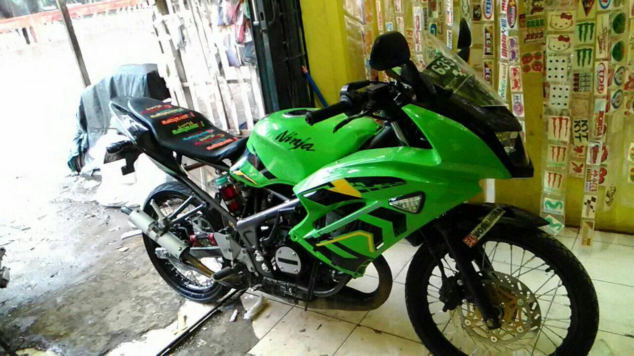 contoh Variasi Motor Ninja