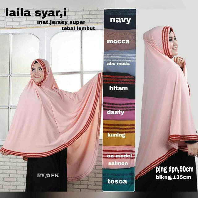 Hijab Jilbab Kerudung LAILA SYAR'I