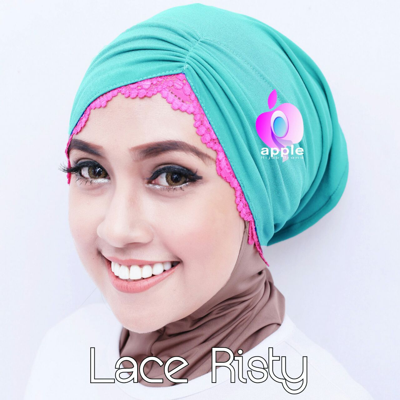Inner Lace Risty Original by Apple/inner risty/ciput/Daleman Hijab