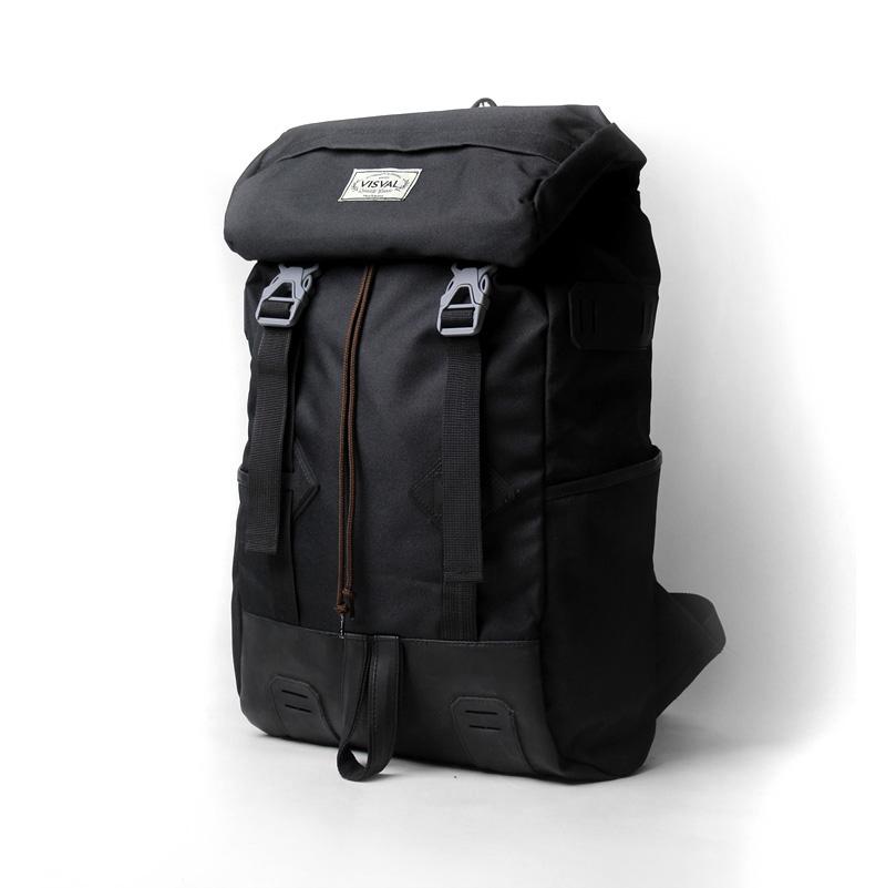 Jual Tas Ransel Laptop Keren Visval Raga Black - Vaska Bags ... 85aaaba511