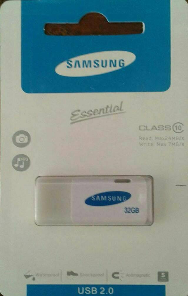 Flashdisk Samsung 32 Gb/fd 32 Gb/flash Disk Samsung