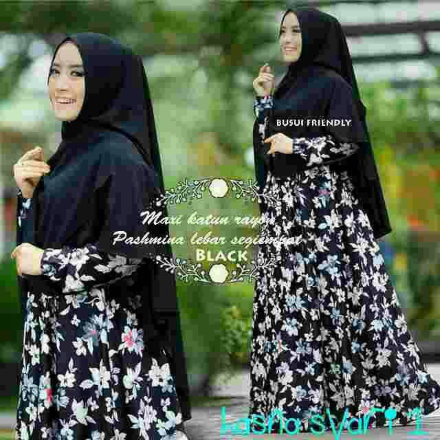 hasna hijab syari