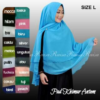 hijab kerudung khimar pad antem