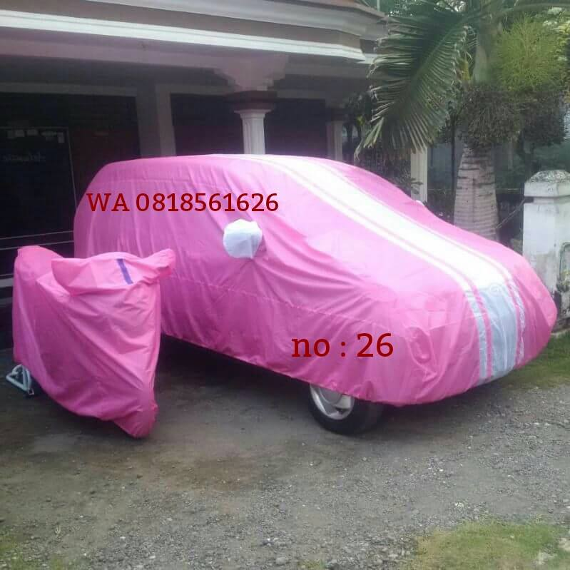 cover mobil nissan march all new jazz  kia picanto karimun wagon agya
