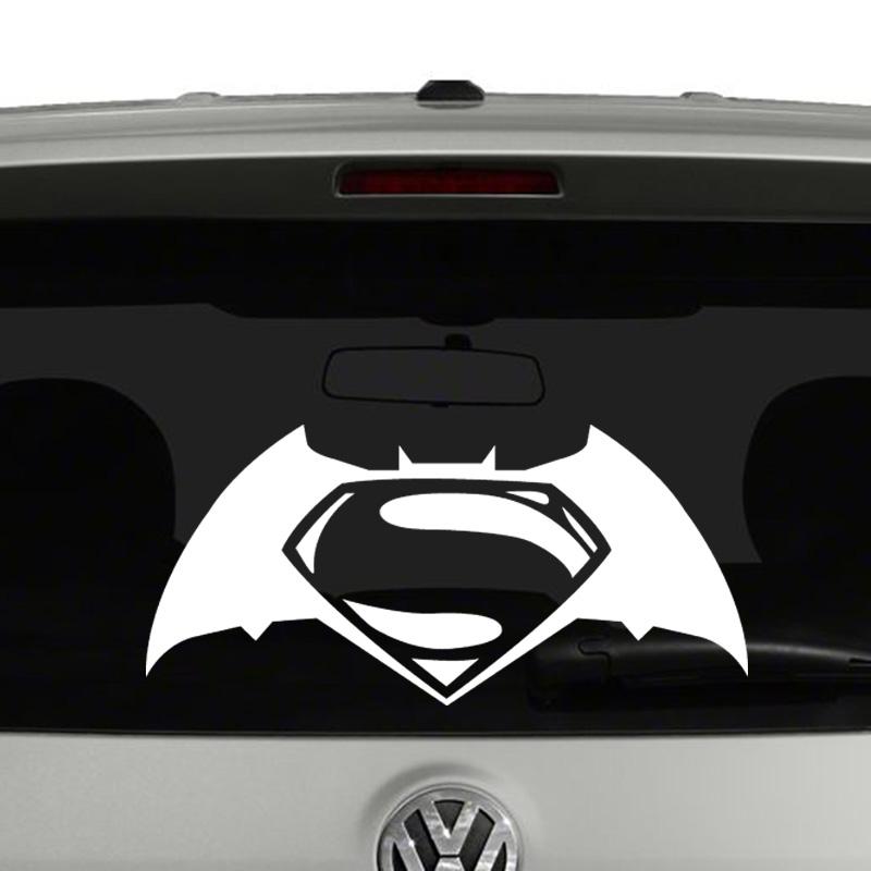 Jual sticker mobil batman v superman 2 mutiara shop jkt tokopedia