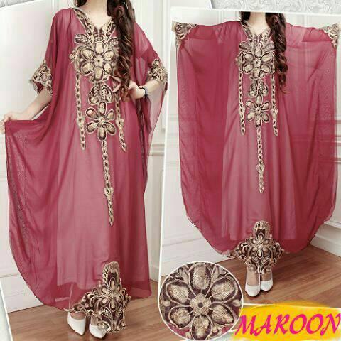 kaftan sharini/baju kaftan/syari/baju muslim/fashion hijab