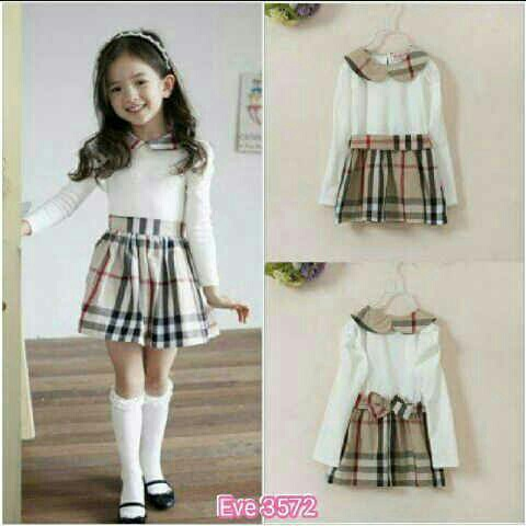 Eve 3572 Dress burberry kids