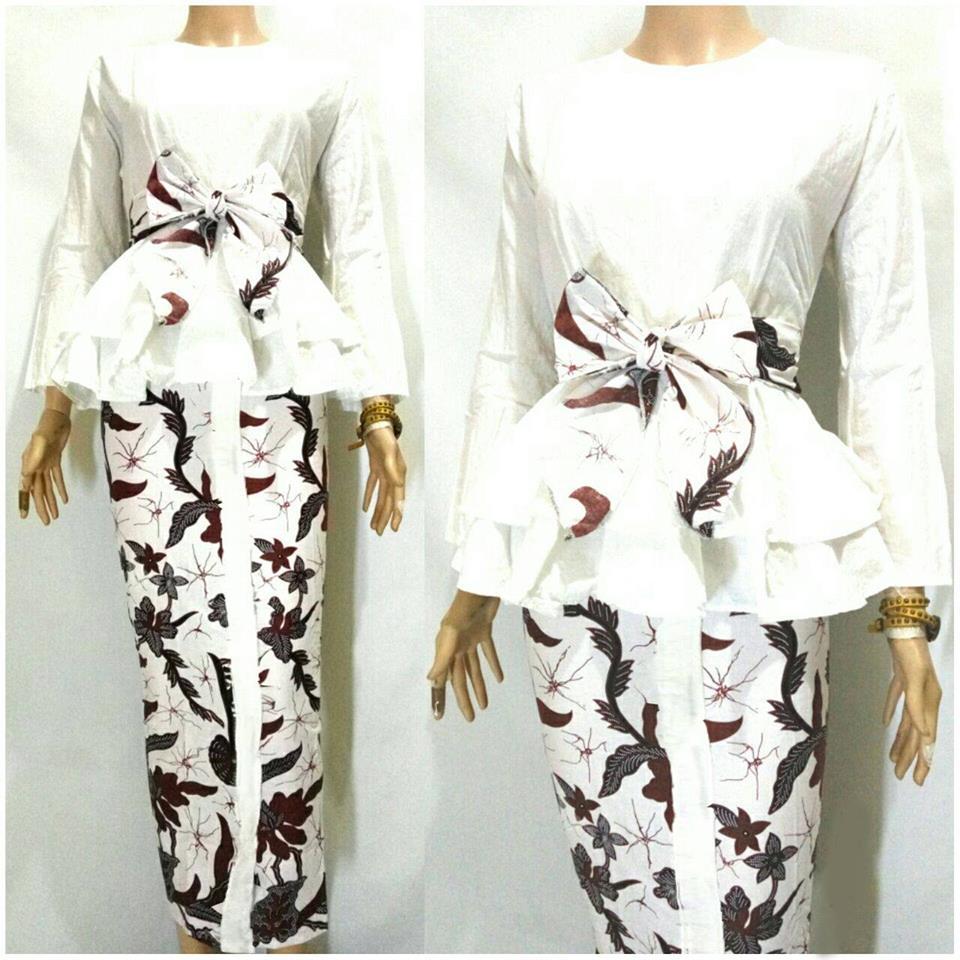 Jual Kebaya Batik Gamis Rok Blus Baju Wanita Pesta Kantor