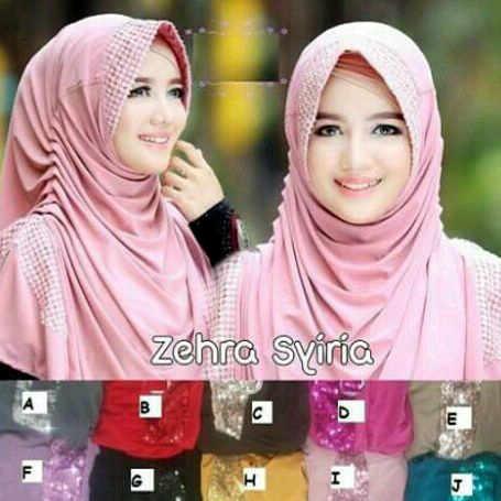 siria zehra jersy (kerudung,hijab,pasmina,syari)