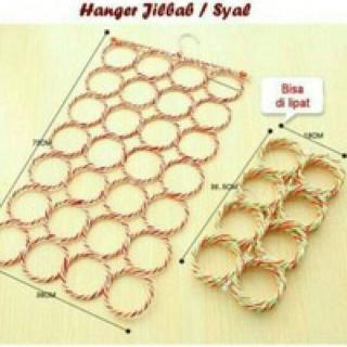 hijab gantungan 28 ring