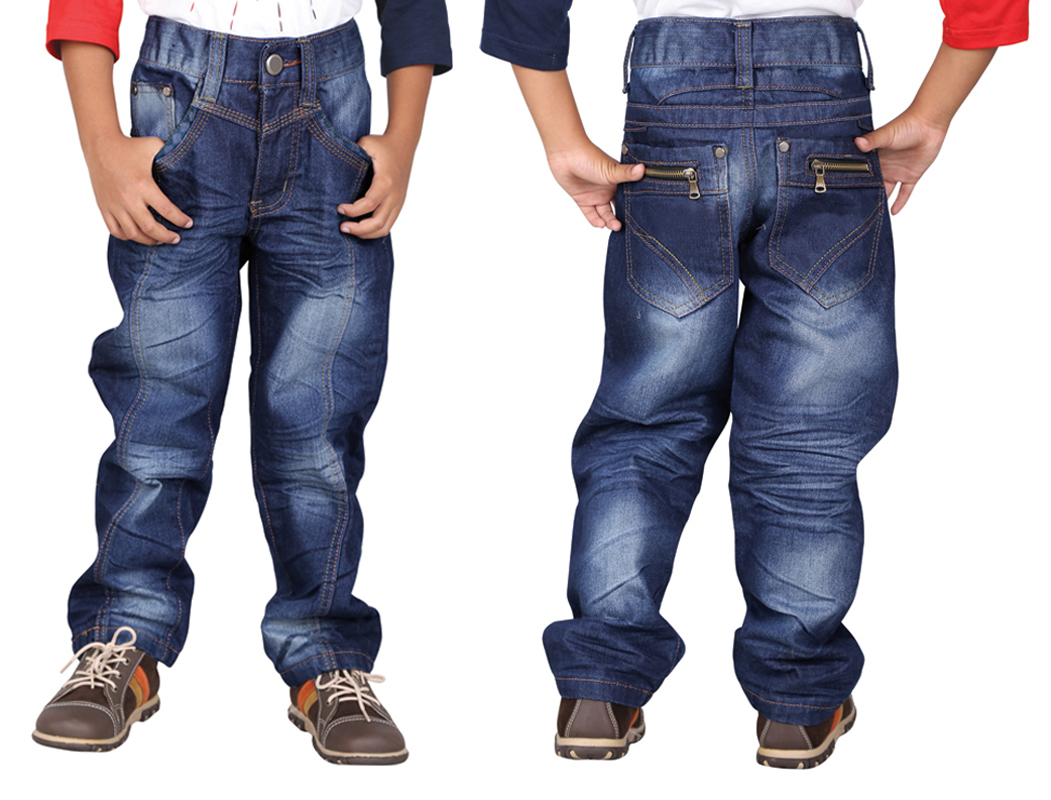 Celana Jeans Anak, Celana Anak, Celana Panjang Anak Laki Laki 3CNU 130