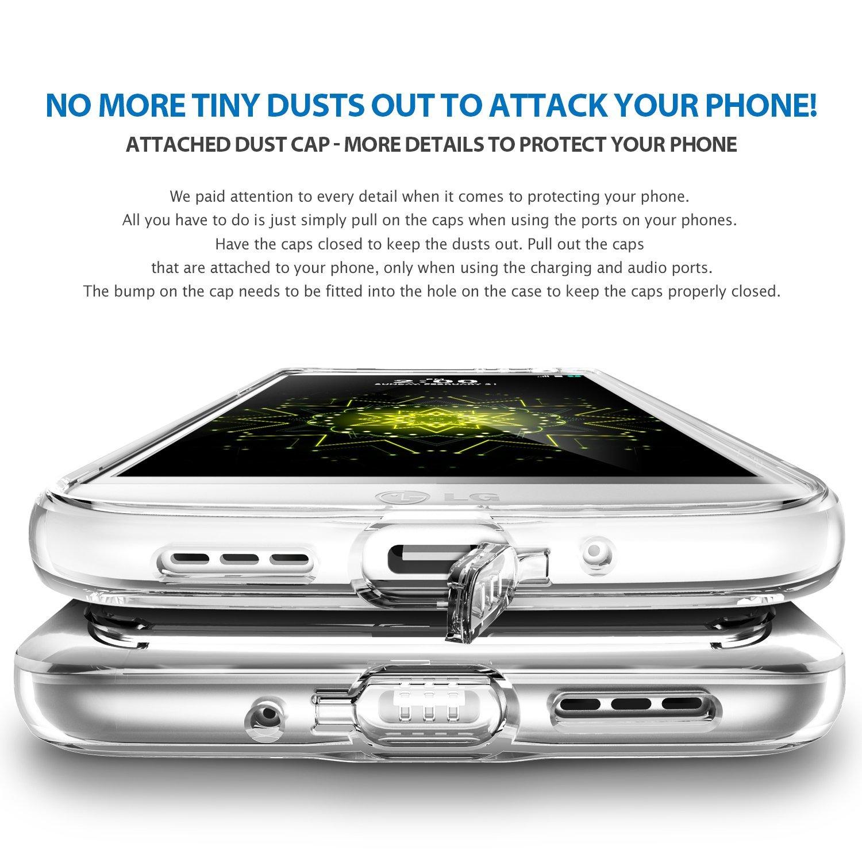 Ringke Fusion Case for LG G5 Smoke - Hitam