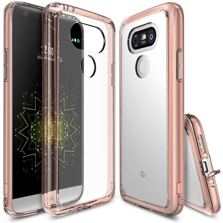 Ringke Fusion Case for LG G5 - Rosegold