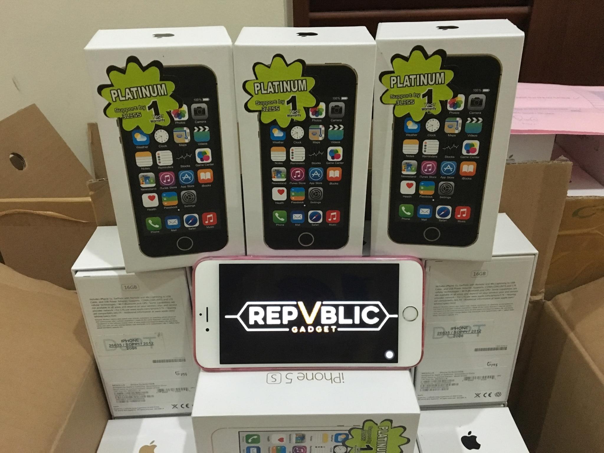 Jual Iphone 5s Grey 32gb New Garansi Platinum 1 Tahun Republic 5 64gb Gadget Tokopedia