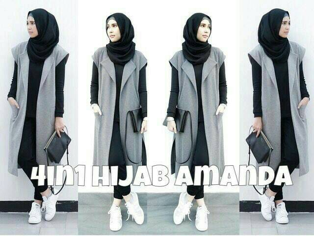 4in1 amanda hijab fit L