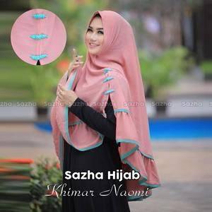 khimar / bergo / hijab / jilbab syari naomi