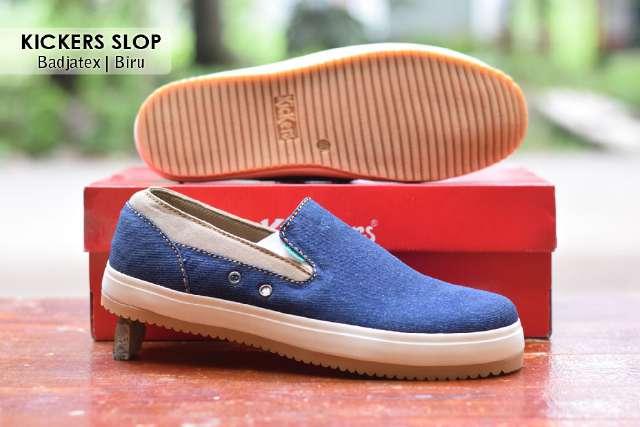 Jual Sepatu Pria Kickers Casual Premium 4 - ( Kulit Suede ) Murah