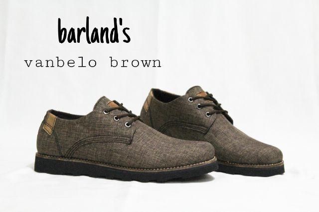 Jual Sepatu Boots Pria Barlands Premium - ( Kulit Asli ) Murah