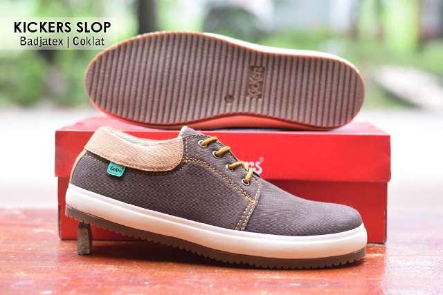 Jual Sepatu Pria Kickers Casual Premium 6 - ( Kulit Suede ) Murah