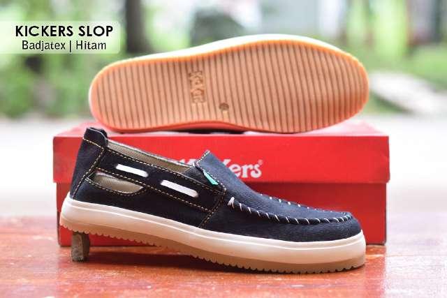 Jual Sepatu Pria Kickers Casual Premium 11 - ( Kulit Suede ) Murah