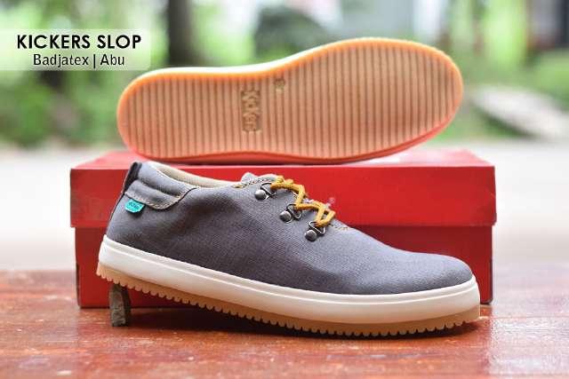 Jual Sepatu Pria Kickers Casual Premium 8 - ( Kulit Suede ) Murah