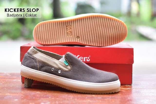 Jual Sepatu Pria Kickers Casual Premium 9 - ( Kulit Suede ) Murah