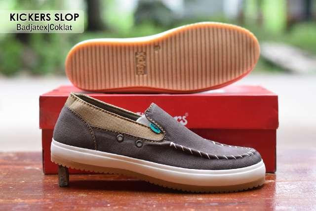 Jual Sepatu Pria Kickers Casual Premium 3 - ( Kulit Suede ) Murah