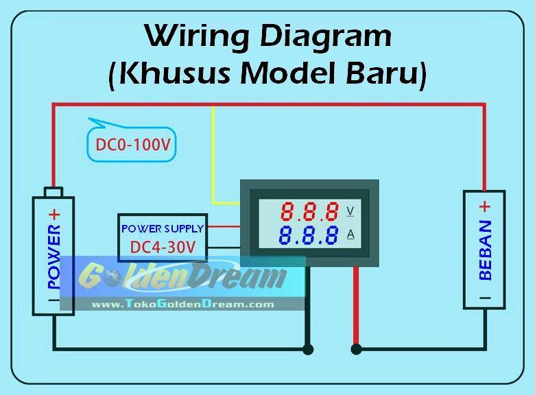 Cara Wiring Voltmeter - Wiring Diagram •