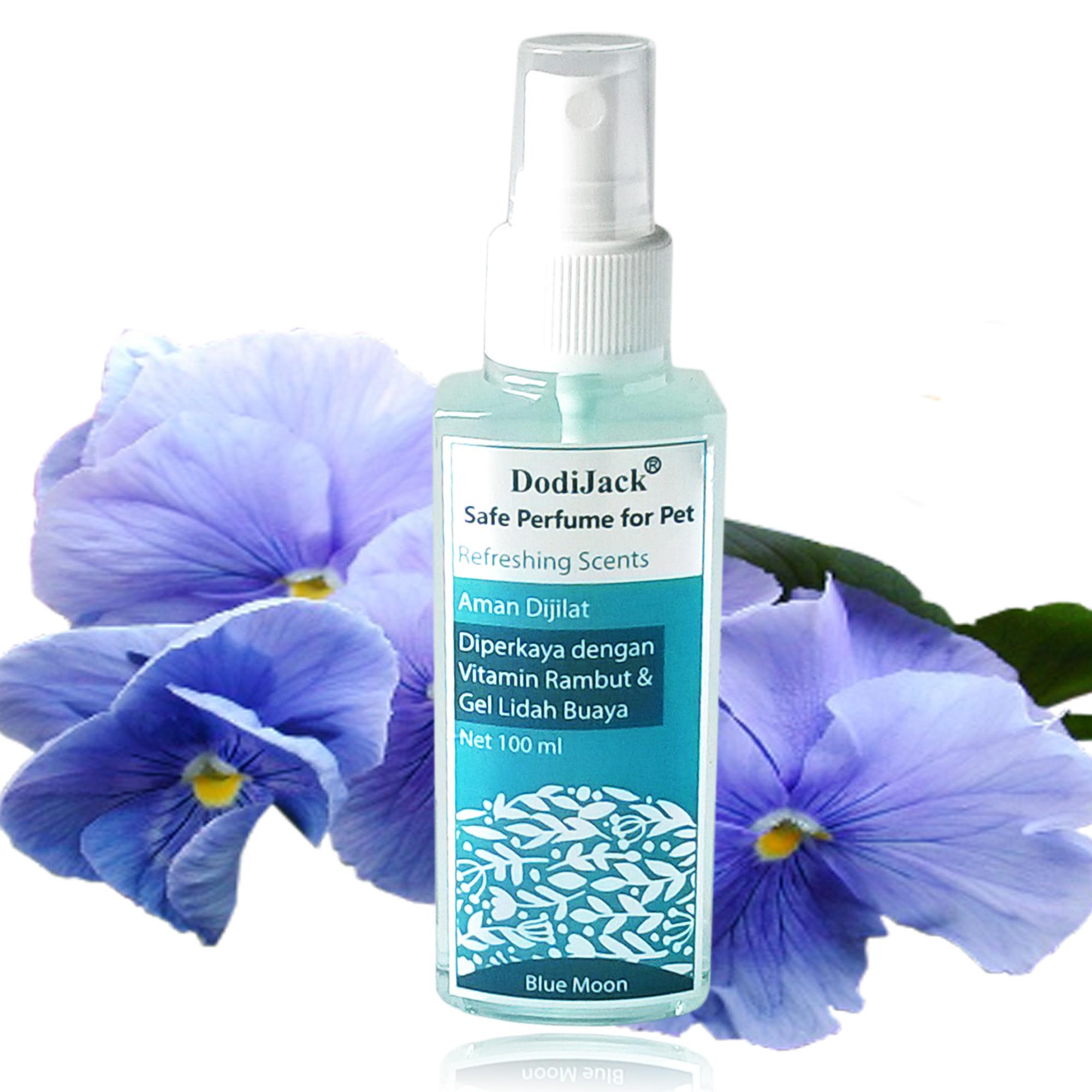 Dodijack Safe Perfume For Pet Parfum Hewan Aroma Mullberry 100 Ml Mustika Putri Body Spray Cologne Flower Bouquet Jual Blue Moon 100ml Ozoradesign