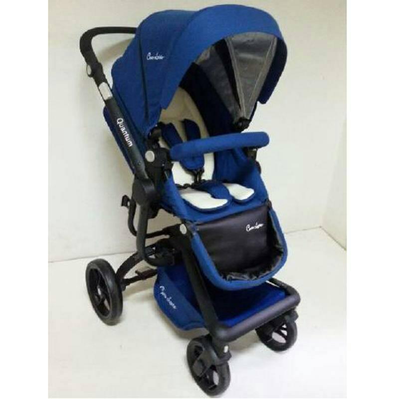 stroller Cocolatte Quantum N100 Blue Murah