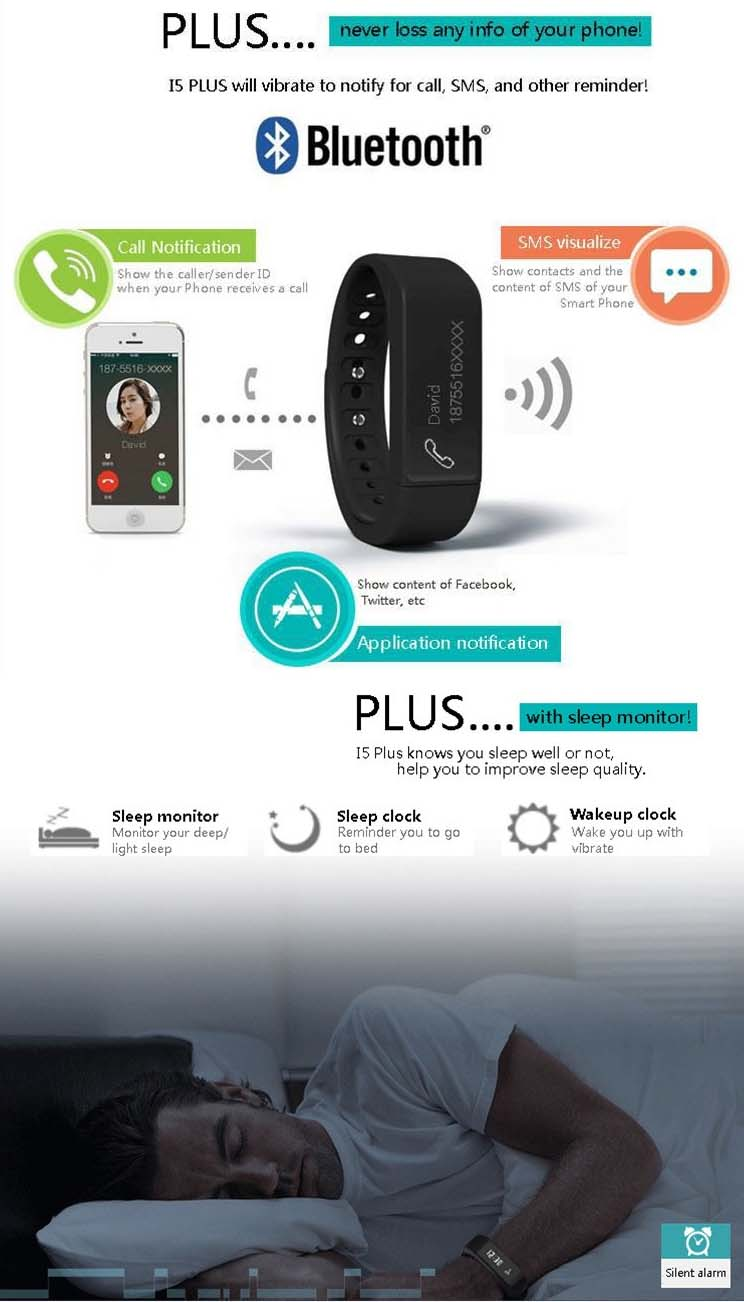 I5plus Smartband / Smart Bracelet / Iwown I5plus