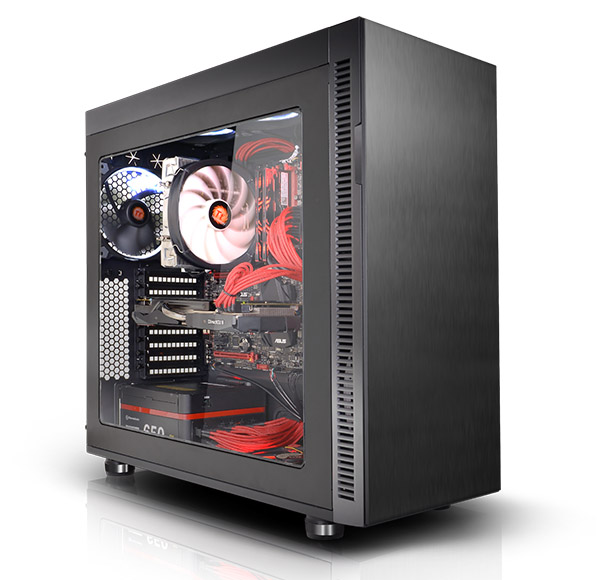 Thermaltake Chassis > Suppressor > F51 Window