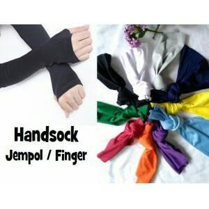 sarung tangan kaos tangan handsock hijab syari