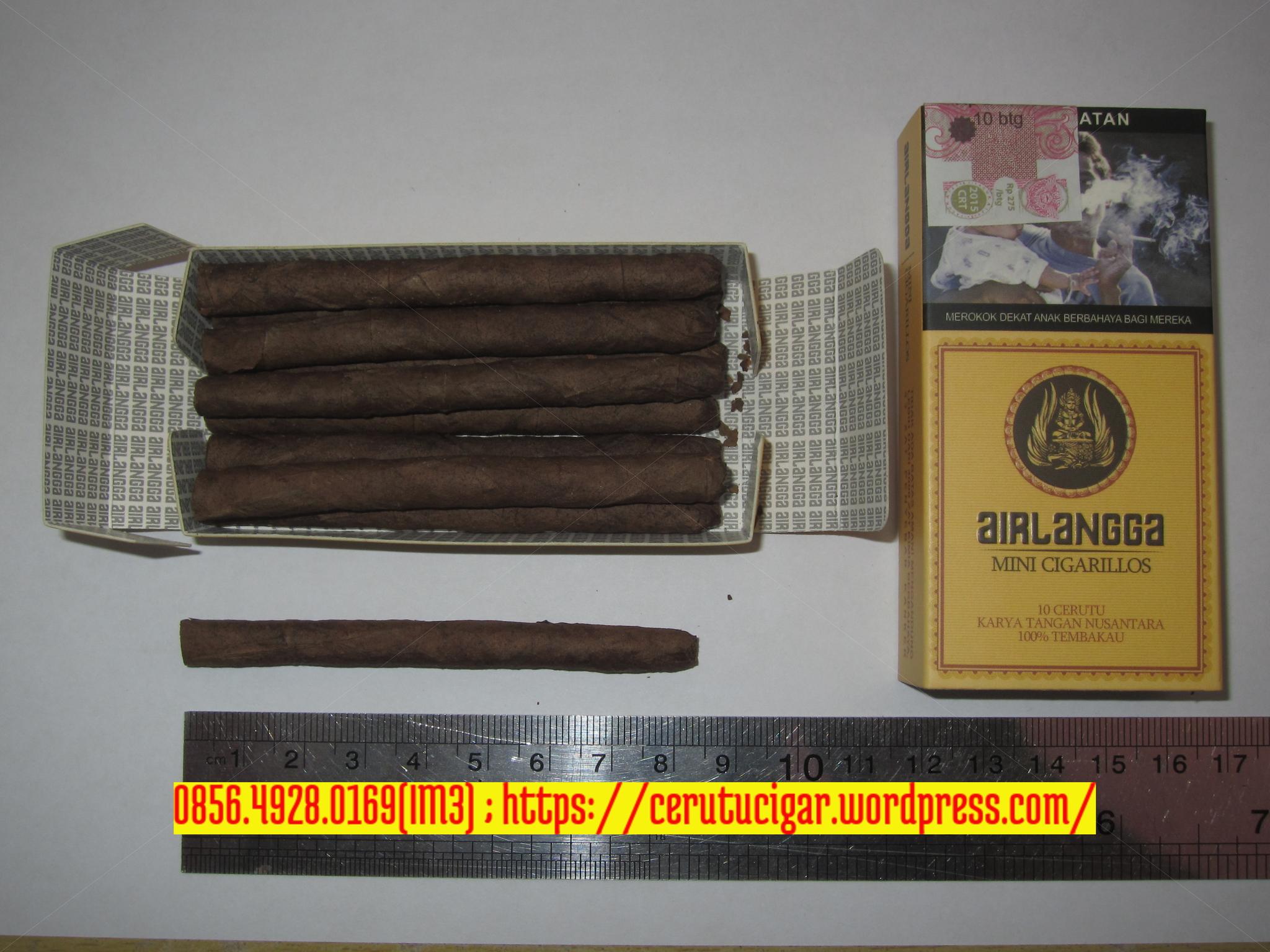 Jual Cerutu Airlangga Mini Cigarillos Cigar Premium Paket Dan Accesoris Emas Album Cream Tokopedia