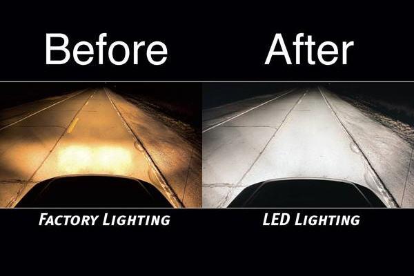 Jual Lampu Led 3 Sisi Utk Sepeda Motor Terbaru 2000 Lumens
