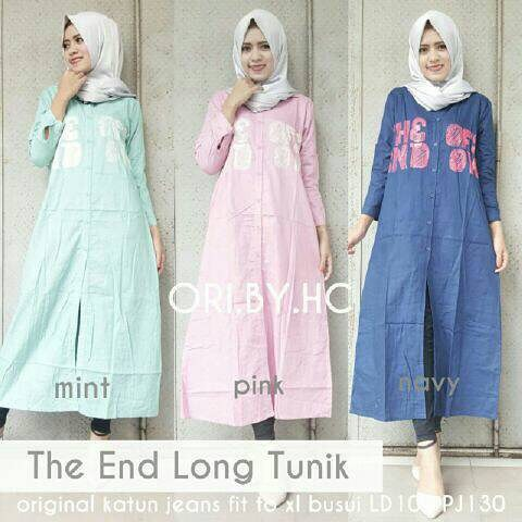 Baju Hijab Murah The And Long Tunik