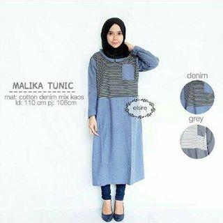 Baju Hijab Murah Malika Tunik