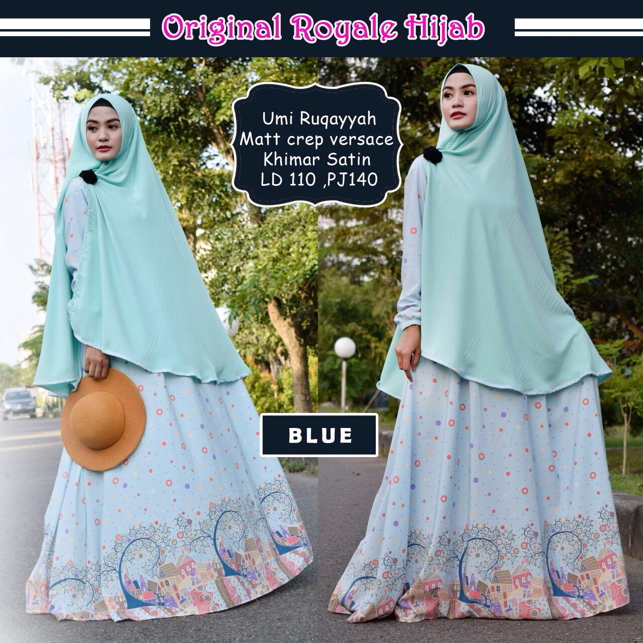 SUPPLIER HIJAB : UMI RUQAYYAH BY ROYALE