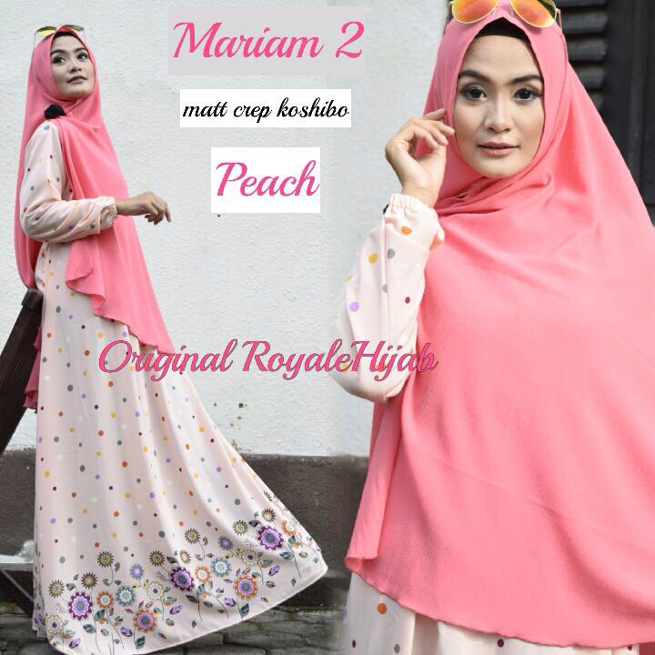 SUPPLIER HIJAB : MARIAM 2 BY ROYALE / GAMIS SYARI