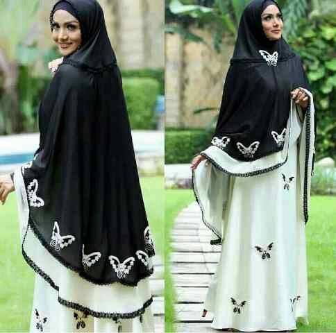 syari krisdayanti kupu gamis hijab syari
